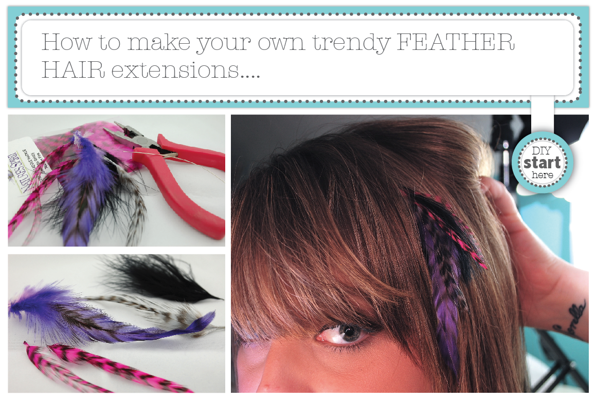 Hair Trends Diy Feather Extensions Nimbi Creative
