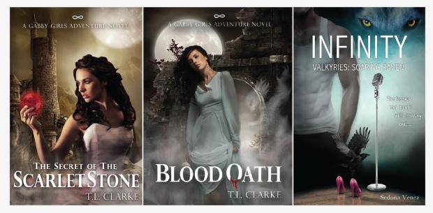 T.L. Clarke (Sedona Venez) Covers