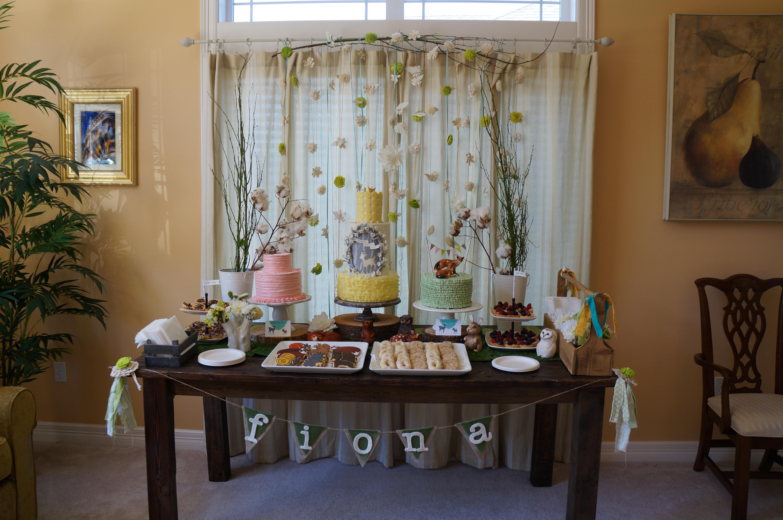 My Enchanted Forest Woodland Themed Baby Shower – Nimbi Creative