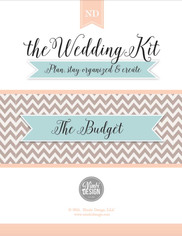 The Wedding Kit Budget